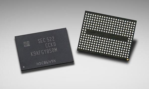 Samsung 48-слойная 3D V-NAND