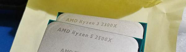 AMD Ryzen 5 2500X, Ryzen 3 2300X, Ryzen 5 2600E и Ryzen 7 2700E