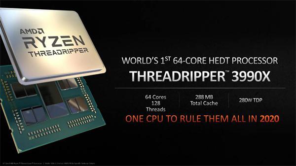 AMD Ryzen Threadripper 3990X