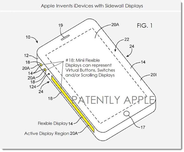 Гибкий дисплей Apple