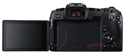 Canon EOS RP display back