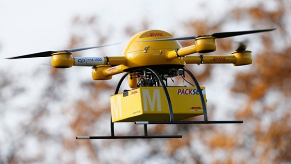 Delivery drone DHL