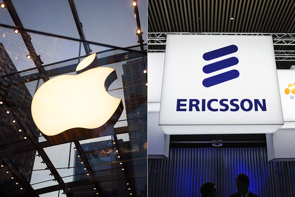 Ericsson Sues Apple Over Patent Violations.