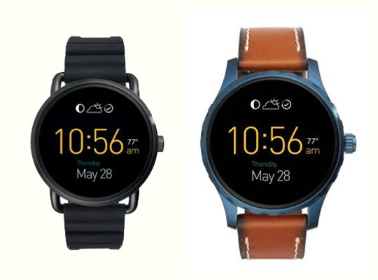 Q Wander � Q Marshal: ����� �����-���� Fossil ��� ����������� Android Wear
