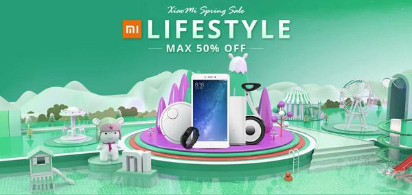 Большая весенняя распродажа Xiaomi