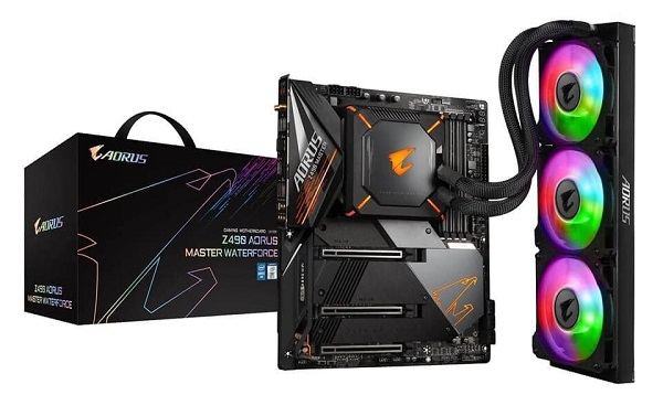 Z490 Aorus Master WaterForce