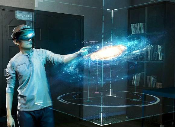 Разработчики Microsoft HoloLens представили компоненты Galaxy Explorer