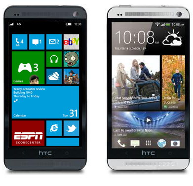 HTC Windows Phone Android Dualboot