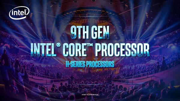 Intel представила процессоры Core H девятого поколения