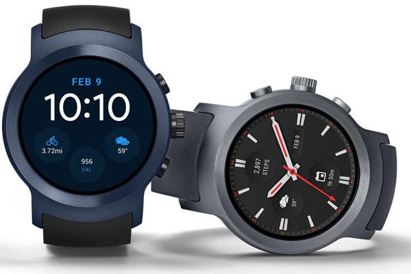 Анонс LG Watch Sport и LG Watch Style  первые смарт-часы на Android ... 74225fcd505d1