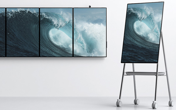 Microsoft Surface Hub 2S и Surface Hub 2X