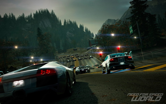Need for Speed World.