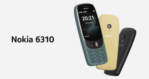 Анонс Nokia 6310 2021 года: привычная «классика» в элегантном корпусе за 60 евро