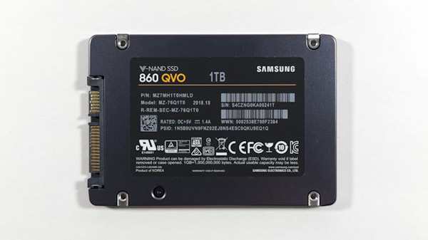 Анонс Samsung 860 QVO