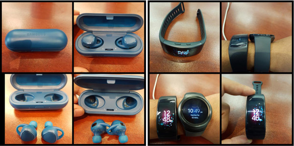 Samsung Gear Fit 2 и IconX