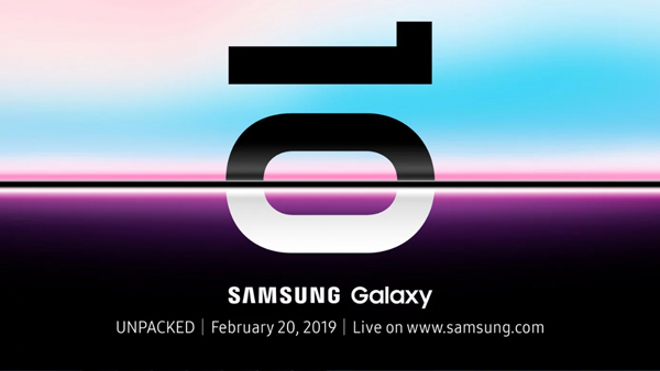 Sansung galaxy S10 event