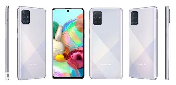 Примерные характеристики Samsung Galaxy A71 5G появились в сети