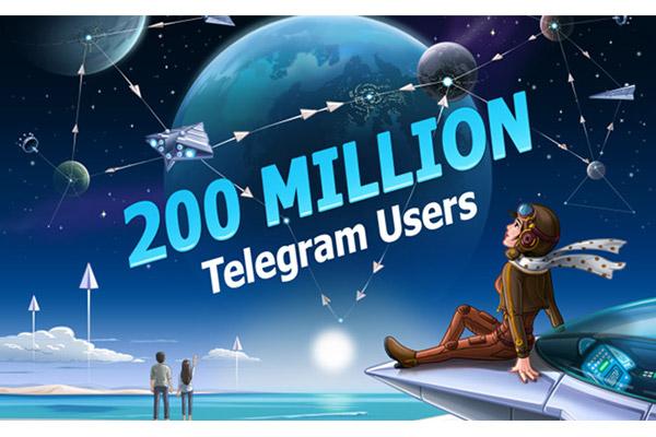 Месячная аудитория Telegram достигла 200 млн человек