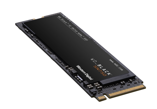 Анонс WD Black SN750 NVMe SSD